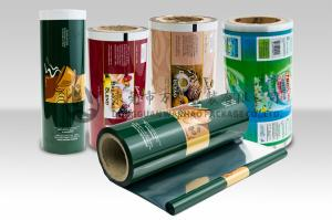 Laminated Food Packaging Plastic Roll Film Moisture Barrier for Tea