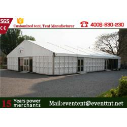 China Aluminum Profile Second Hand Camping Tent For Outdoor Warehouse 35 x 50m on sale