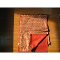 Autumn Orange Ladies Silk Pashmina Scarf ,Hand Printing