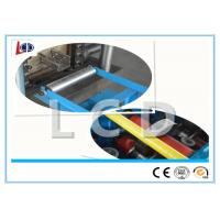 Shelf Sheet Metal Roll Forming Machines , Upright Roll Forming Machine Custom Color