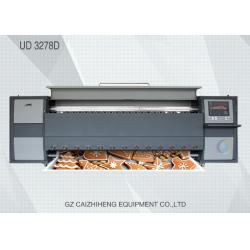 China Advertising HD Large Format Solvent Printer Double 4 Color Seiko Printhead Challenger 3278D on sale