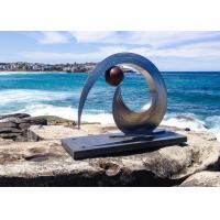 Stainless Steel Garden Abstract Metal Sculpture Contemporary Metal Sculpture Art