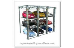 Ascenseur vertical de voiture de solution de stockage de for Ascenseur voiture garage
