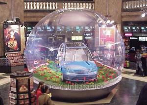 Popular Inflatable Bubble Tent / Car Capsule / Hail Proof Car Cover SGS Certification
