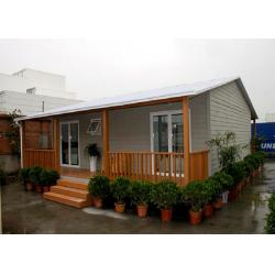 China Easy Install Prefabricated Bungalows Modular Homes Kit For Residential House on sale