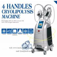 Innovative Cryolipolysis Freeze Fat Reduction, 4 Handles Work Simultaneously Cryotherapy Fat Freezing Machine