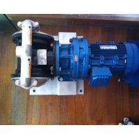 Electric MOTOR  Operated Diaphragm pump