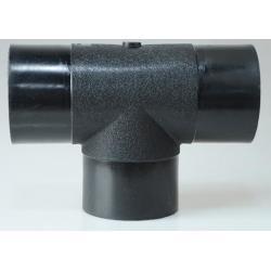 China HDPE pipe Socket tee of pressure PN10/PN16 on sale