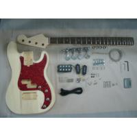 Four String HB Bass DIY Electric Guitar Kits With Pearl Loid Pickguard AG-BS2