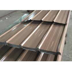 China 0.15 - 0.8mm Thick Corrugated Roof Panels, Length 3000mm Color Coated Roofing Sheets on sale