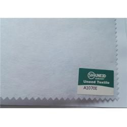 China Eco Friendly Mens Suit Accessories Non Woven Fabric Raw Material Cross Laying on sale