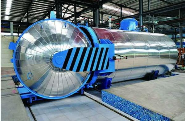 China Composite Autoclave with automatic PLC controlling system and safety interlock supplier