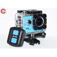 Blue Ef68r Remote Control Action Camera 4k 60fps Wide Angle WIFI Mini DV HD