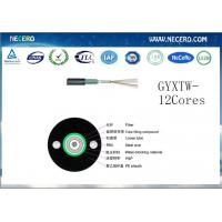 4 core optical fiber cable GYXTW fibre optic cable made in china