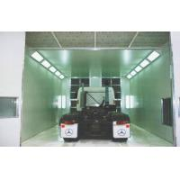 Vehicle Down Draft Industrial Spray Booth , 220V Electric Spray Paint Booth