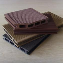 China Hollow WPC Decking Outdoor and Pest-resistant Wood Plastic Composite Panel on sale