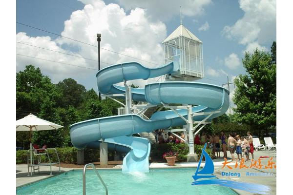 Commercial water park equipments 7m lake open water - Commercial swimming pool water slides ...