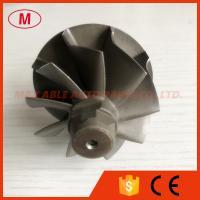 K04 44.5X50mm 9 blades journal bearing turbo turbine wheel shaft/turbo wheel
