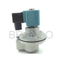China Chemical Industry 3 / 4 Inch Solenoid Valve DMF-Z-20 With ADC Aluminum Small Cap on sale