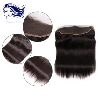 Peruvian Remy Natural Lace Front Closures Side Part Silk Straight