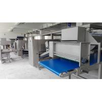 750mm Belt Width Puff Pastry Dough Machine With Siemens PLC European Standard