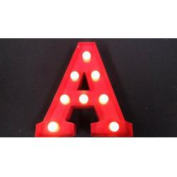 custom led red marquee letters