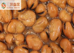 Cooking Broad Beans / Organic Canned Vegetables High Temperature Sterilization