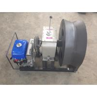 3 Ton 600 Diameter Cable Capstan Pulling Winch with Yamaha Gasoline Engine for Cable Stringing