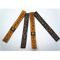 Garment Clothing Label Tags Soft Printing Woven Fabric Decoration