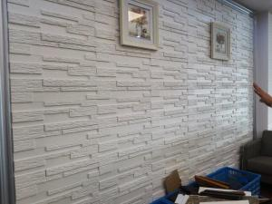 Granite Fake Stone 3D Wall Tiles Hotel Restaurant Exterior Wall Cladding For