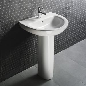 Wash Basin Corner Unit : D4009 Bathroom pedestal sink hindware corner wash basin vanity units ...