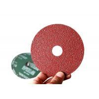100mm Aluminum Oxide Resin Fiber Sanding Discs For Angle Grinder Start from Grit 24