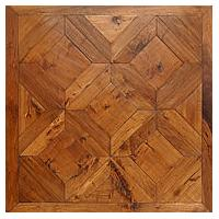 American Hickory Vienna pattern parquet flooring
