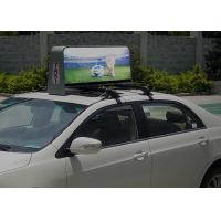 IP65 High Definition Taxi Top Led Display 55296dots / set Physical density