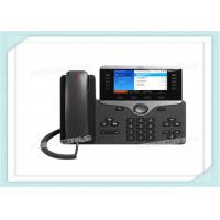 Wall Mountable Cisco IP Phone CP-8861-K9 With Headset Auto - Answer Agent Greeting