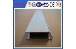 La Chine le prix en aluminium expulsé de rail, aluminium profile le cadre avec la peinture (le revêtement de poudre) fournisseur