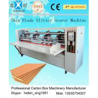 Automated Paper Carton Vertical Cutting Machine / Paper Slitter Scorer Machine