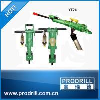 Yt24 Yt27 Yt28 Yt29A Horizontal Pneumatic Airleg Rock Drill Machine for Civil Project