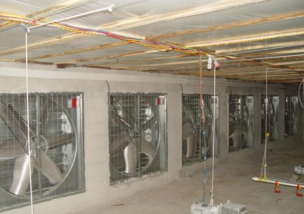 China Chicken Farm Cooling pad System in the Hot Weather supplier