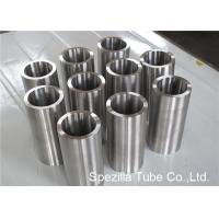 ASME SB338 Grade 7 Seamless Round Titanium Pipe Welding for Condensers / Heat Exchangers