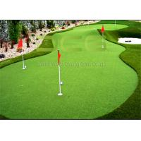 Indoor and Outdoor Artificial Golf Green Grass / Synthetic Grass Lawn