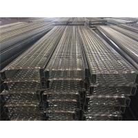 Safety Galvanized Steel Grating , Expanded Metal Grating For Work Platforms