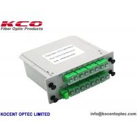 High Reliability 1*16 Fiber Optic Splitter 1x16 LGX Moduler Casette For 19'' Patch Panel