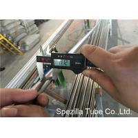 Food AISI 304L welded steel tube  EN 1.4307 For Heat Exchanger 25.4 X 1.2MM