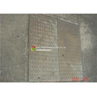 Galvanized Steel Grate Drain Cover With Angle Frame for Urban Road / Square