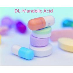 China DL-Mandelic Acid 99% Fine Chemicals Cas 611-72-3 Or 90-64-2 Cosmetic Grade on sale