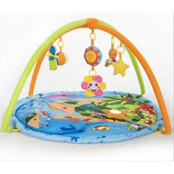 China OEM Cute and Lovely Sea Animal Toddler Play Gym For Baby Playing on sale