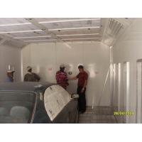 Auto Painting, Baking, polish Down Draft Spray Booth with Italian Riello burner G20 WD-70
