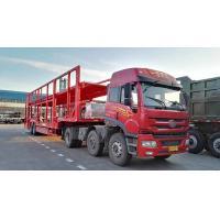 CIMC Triple Axles Car Transport Carriers Car Loader Truck Flatbed Platform