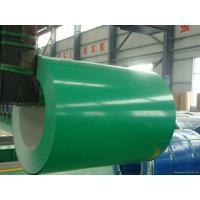 Commercial Pre Painted Steel Sheet Coil , Ppgi Steel Coils For Garage Doors / Roof Panel